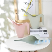 澆花器 長嘴澆水壺澆花馬卡龍粉色灑水壺塑料園藝工具淋花家用澆花壺
