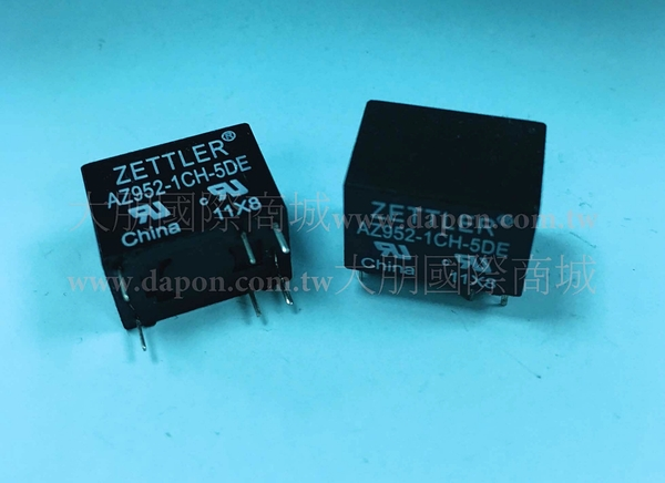 *大朋電子商城*AMERICAN ZETTLER  AZ952-1CH-5DE  繼電器Relay(5入)