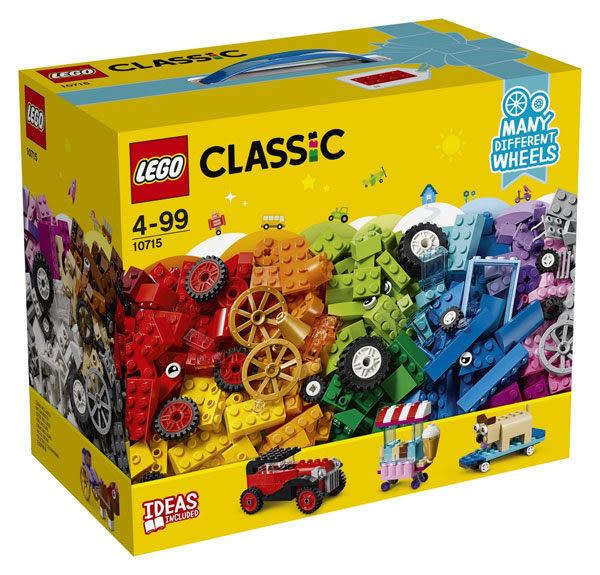 【LEGO樂高】CLASSIC 滾動的顆粒 10715