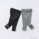 女童長褲 女童褲子兒童長褲寶寶休閑褲外穿秋裝新款彈力打底褲 洛小仙女鞋
