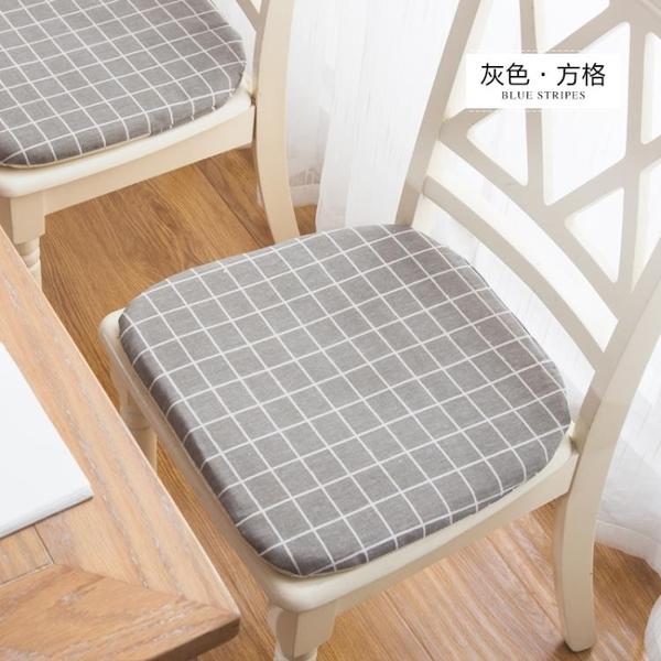 坐墊餐桌椅墊子辦公打坐墊榻榻米家用板凳防滑軟墊【聚可愛】