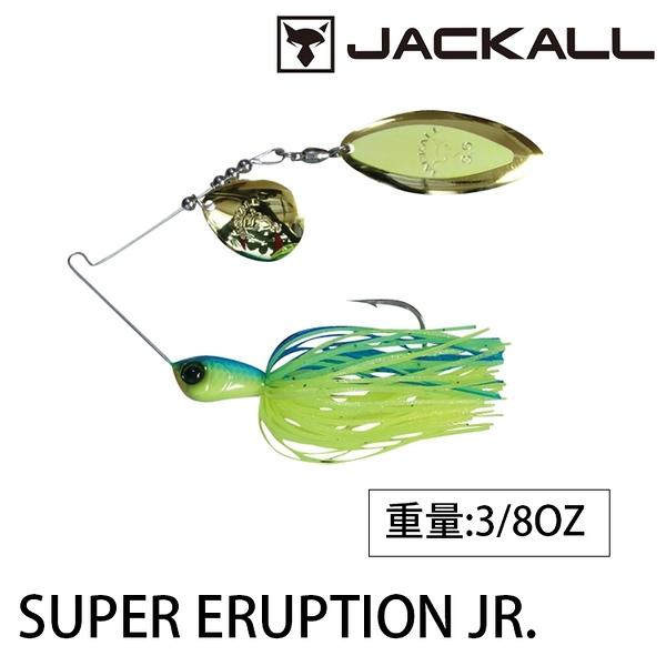 漁拓釣具 JACKALL SUPER ERUPTION JR 10g TW [覆合式亮片]