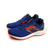 adidas aero bounce j 慢跑鞋 運動鞋 藍色 大童 BW1184 no483
