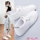 小白鞋 鞋子女2021年秋季新款百搭小白女鞋運動學生休閒爆款白鞋秋冬板鞋 小天使 618