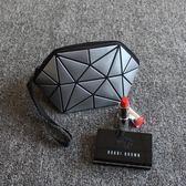 化妝包便攜小號貝殼手包簡約口紅化妝品旅行收納包