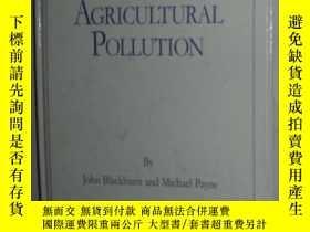 二手書博民逛書店【英語】英文原版書《罕見Agricultural polluti