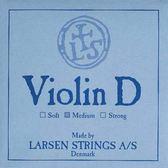 小叮噹的店- 小提琴弦 (第三弦 D弦) 丹麥 Larsen Original Medium 淺藍 5523
