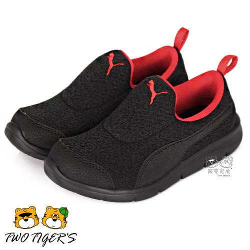 Puma Bao 3 Warm PS 黑色 套入式 中童鞋 NO.R2159