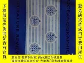 二手書博民逛書店Oceanographic罕見Literature Review (JPURNAL) 09 2017 海洋文獻