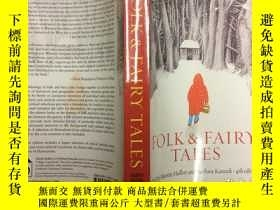二手書博民逛書店Folk罕見and Fairy Tales, 4th Editi