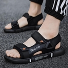 涼鞋男2021新款夏季休閒時尚室外穿越南沙灘軟底防滑情侶運動涼拖 露露日記
