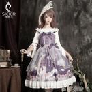 原創設計洛麗塔洋裝lolita裙正版日常裝正版公主裙學生蘿莉塔全套【蘿莉新品】