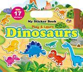 My Sticker Book:Dinosaurs (手提貼紙書英文版:恐龍)
