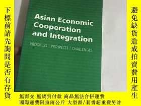 二手書博民逛書店Asian罕見Economic Cooperation And