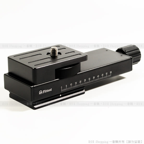 EGE 一番購】FM-115 可微調型微距快拆板 微距雲台【適用UNC1/4和Arca雲台】