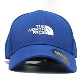 THE NORTH FACE 寶藍 老帽 白LOGO 基本款 (布魯克林) NF0A4VSVVA6