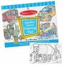 【美國瑪莉莎Melissa & Doug】大型兒童繪圖本 交通工具 #MD4205