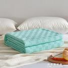 純棉夏季毛巾被單雙人薄蓋毯子空調被夏涼被午睡毯床單小毛毯披肩【果果新品】