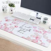可愛創意卡通兔子滑鼠墊 防水加厚鎖邊防滑辦公桌墊超大鍵盤墊子 「繽紛創意家居」