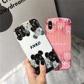 ~SZ33 ~潮牌kaws 暴力熊行李箱軟殼iphone XS max 手機殼iphone 7 8 plus iphone xr 手機殼iphone xs 手機