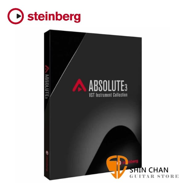 Steinberg Absolute 3 樂器音色素材庫 下載版 附 USB-eLicenser (USB Key 啟動鑰匙)