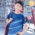 (大童款-男)透氣運動專用布料-休閒運動上衣(310078)【水娃娃時尚童裝】