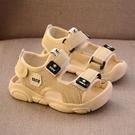 男童涼鞋 夏新款男童涼鞋小男孩牛筋底包頭涼鞋防滑軟底寶寶學步-Ballet朵朵