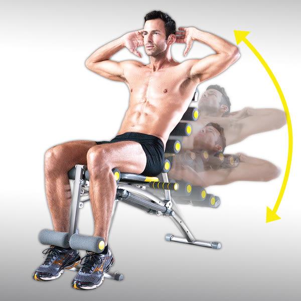 【夏天甩油大作戰】Rock Gym 8合1 搖滾運動機S款    後仰五段調節  抬腿功能  贈拉力繩2條+DVD光碟