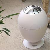 歐式智慧感應垃圾桶家用時尚創意客廳臥室電動免腳踏垃圾筒igo