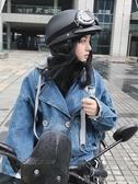 安全帽 哈雷頭盔女冬季電瓶車安全帽電動摩托車可愛機車四季竹蜻蜓頭盔男  【快速出貨】 YYJ