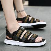 618好康鉅惠男羅馬個性時尚男生韓版潮流青休閒沙灘鞋