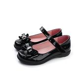 小女生鞋 娃娃鞋 蝴蝶結 漆皮 黑色 童鞋 no152