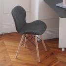 皇式亞麻布蝴蝶椅【JL精品工坊】餐椅 椅子 辦公椅 休閒椅