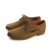 HUMAN PEACE 牛津鞋 休閒鞋 牛皮 棕色 女鞋 7527-03 no050