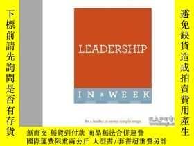 二手書博民逛書店Successful罕見Leadership in a Week-一周內成功領導Y465786 Carol O