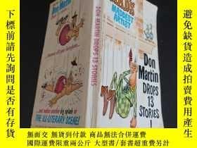 二手書博民逛書店Don罕見Martin DROPS 13 STORIES!Y59
