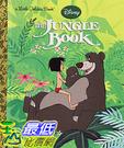 [106美國直購] 2017美國暢銷兒童書 The Jungle Book (Disney The Jungle Book) (Little Golden Book) Hardcover