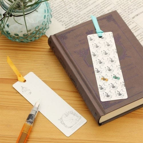 MOOMIN嚕嚕米日本製上質紙可留言書籤2入組(嚕嚕米)★funbox★Gakken_GK18582