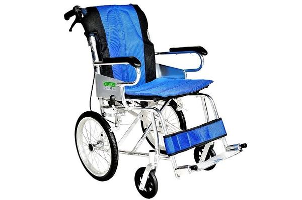 輪椅B款 / 鋁合金輪椅- (小輪背可折)// YC-873/16