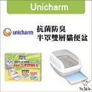 Unicharm嬌聯[半罩雙層貓砂盆](免運)