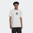 ISNEAKERS Adidas originals 愛迪達 三葉草 短袖 小LOGO 素T 男款 白色 FM9920