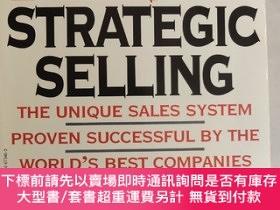 二手書博民逛書店The罕見New Strategic Selling The Unique Sales System Proven