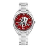 FENDI芬迪 獨愛款式時尚不鏽鋼石英腕錶(F233037300)