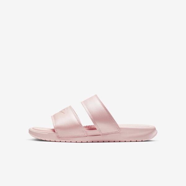 Nike WMNS Benassi Duo Ultra Slide 819717-605 女 拖鞋 涼鞋 休閒 雨天 粉