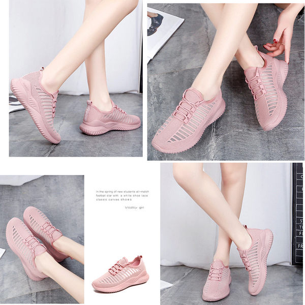 新款透氣舒適休閒鞋 女款運動鞋 平底鞋 小白鞋 編號 9999