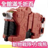 【方塊熊】日本 日版 萬代BANDAI 動物戰隊 獸王方塊武器 動物武裝 獸王者【小福部屋】
