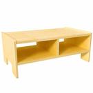 【華森葳兒童教玩具】沙發座椅系列-蒙氏收納桌 KB1-B007-V01