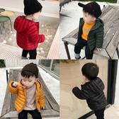 兒童羽絨棉衣棉服輕薄款寶寶棉襖男童女童中小童短款外套百搭冬季