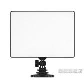 攝影燈攝影燈雙色溫LED超薄攝像補光燈直播冷暖可調柔光燈wy