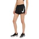 Nike AS W Swoosh Run Short 女 黑 運動 慢跑 短褲 CZ9316-010
